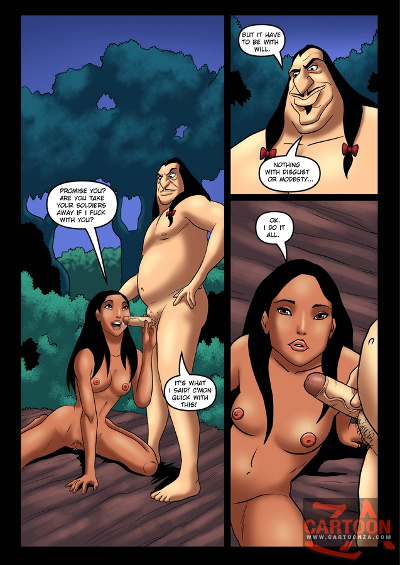 pocahontas cartoon sex comics
